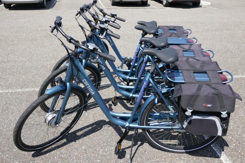 nieuw: E-bikes in de haven