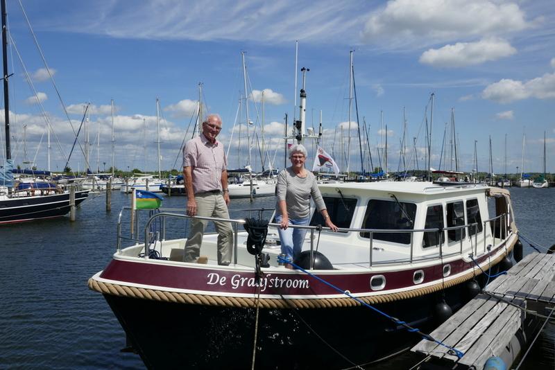 'aan boord bij …' Wim en Mies Noordegraaf, juli/augustus 2019