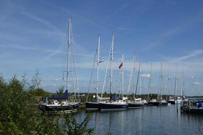 Breehorn-vereniging bezoekt Ketelhaven, 14/15 september
