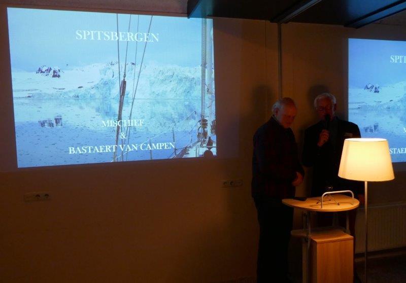 Even in Spitsbergen tijdens nieuwjaarsbijeenkomst, 17 januari 2020