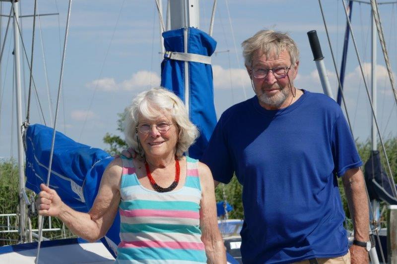 'aan boord bij …' Ton en Ria van Soest, juli 2020