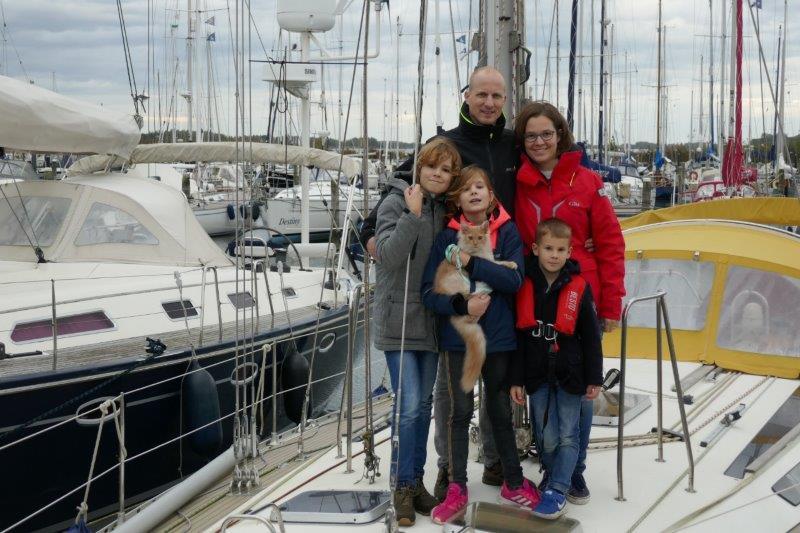 'aan boord bij …' familie Oostveen, oktober 2020
