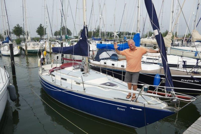 … aan boord bij Leon van Warmerdam en Camiel Dijkers, september 2021
